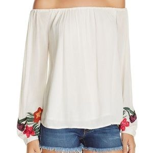 Lovers+Friends white off the shoulder top small